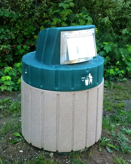 Millennium 4000 - In Ground Trash Systems & Recycling Containers
