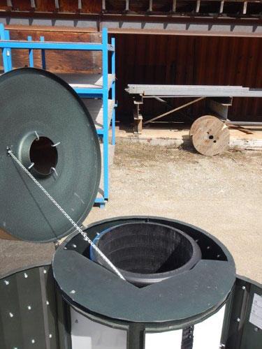 Distribution Kiosk Sybertech Waste Reduction Ltd